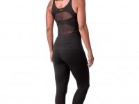 Black Crossover Jumpsuit